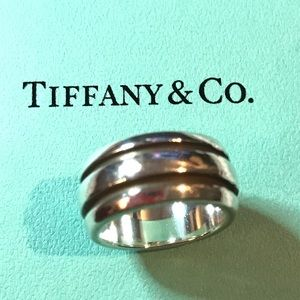 Tiffany & Co. Jewelry - Tiffany & Co. Atlas Groove Sterling Silver Ring